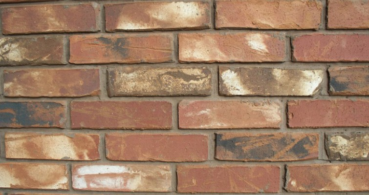 ecd1559535ff The color of the mortar determines the colors that come out of the brick.  Most brick are laid with gray cement