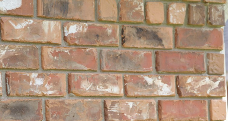 Raked joint for Brick types and styles